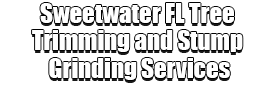 Sweetwater FL Tree Trimming and Stump Grinding Services Logo-We Offer Tree Trimming Services, Tree Removal, Tree Pruning, Tree Cutting, Residential and Commercial Tree Trimming Services, Storm Damage, Emergency Tree Removal, Land Clearing, Tree Companies, Tree Care Service, Stump Grinding, and we're the Best Tree Trimming Company Near You Guaranteed!